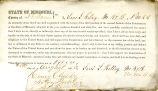 Loyalty oath of Levi L. Kelley of...