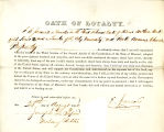 Loyalty oath of E. Jaccard of...