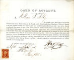Loyalty oath of William T. Selby...
