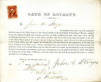 Loyalty oath of John A. Sturges...