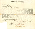 Loyalty oath of James H. Britton...