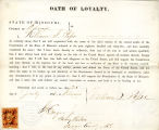 Loyalty oath of William S. Pope...