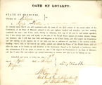 Loyalty oath of Louis Kolle of...