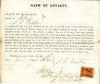 Loyalty oath of S. D. Fulton of...
