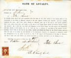 Loyalty oath of Peter Bowe of...