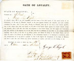 Loyalty oath of George L. Vogel...