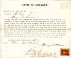 Loyalty oath of Henry B. Kerone...
