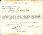 Loyalty oath of James O....