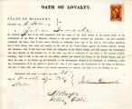 Loyalty oath of Julien Gamache of...