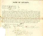 Loyalty oath of Henry S. Reed of...