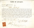 Loyalty oath of William Kuhlhoff...