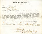 Loyalty oath of Alfred N. Eaton...