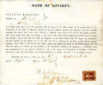 Loyalty oath of Wilhelm Lorbe of...
