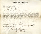 Loyalty oath of John Quirk of...