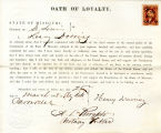 Loyalty oath of Henry Doering of...
