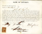 Loyalty oath of John H. Lightner...