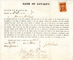 Loyalty oath of James A. Beal of...