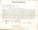 Loyalty oath of Francis Krauss of...