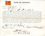 Loyalty oath of Eugene LeMarchal...