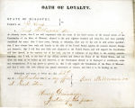 Loyalty oath of Louis Pullman Sr....