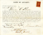 Loyalty oath of Thomas O'Brien of...