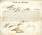 Loyalty oath of John B. Gray of...