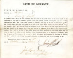Loyalty oath of  Irwin Z. Smith...