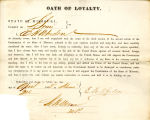 Loyalty oath of E. H. Whedon of...