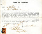 Loyalty oath of E. S. Rowse of...