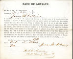 Loyalty oath of  James M. Collins...