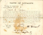 Loyalty oath of Roderick E....