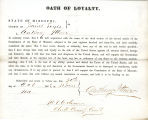 Loyalty oath of Anthony Ittner of...