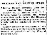 Hetzler and Brewer Speak