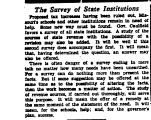The Survey of State Institutions