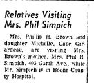 Relatives Visiting Mrs. Phil...