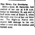 Tire Blows, Car Overtures