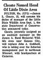 Choate Named Head of Little Dixie...