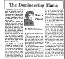 The Domineering Mama