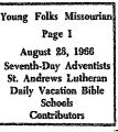 Young Folks Missourian
