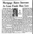 Mortgage Rates Increase as Loan...