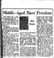 Middle-Aged Have Freedom