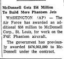 McDonnell Gets $56 Million to...