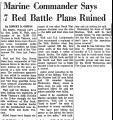 Marine Commander Says 7 Red...