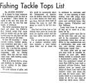 Fishing Tackle Tops List