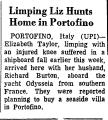 Limping Liz Hunts Home in...
