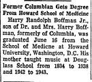 Former Columbian Gets Degree from...