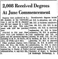 2,008 Received Degrees at June...