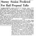 Stormy Session Predicted for Rail...