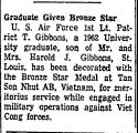 Graduate Given Bronze Star