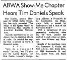 ABWA Show-Me Chapter Hears Tim...